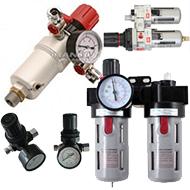 Oro srauto reguliatoriai/ drėgmės filtrai/ tepalinės