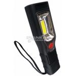 Darbo lempa akumuliatorinė su didelio skaidrumo polikarbonato lęšiu COB LED, 3.7v2200ma NiMh baterija 210LM