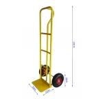 Transportavimo vėžimėlis 200kg, geltonas (M80085)