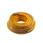 Žarna PVC su žalvarinėmis jungtimis geltona (8x13mm), 20m (PH8020)