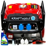 Benzininis vienfazis generatorius be ratukų 2200W (KD146)